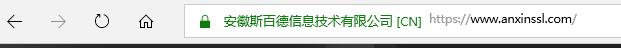 SSL证书浏览器展现形式