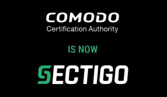 Comodo更名为Sectigo