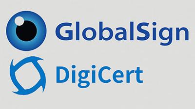 GlobalSign和DigiCert